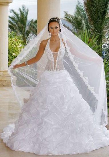 vestidos de noiva ousados