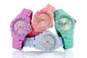 Relógios com Tendência Candy Colors