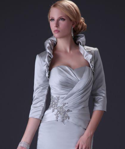 Usar boleros com vestidos de festa é um ótimo recurso para disfarçar pequenos defeitinhos do braço (Foto: Divulgação)