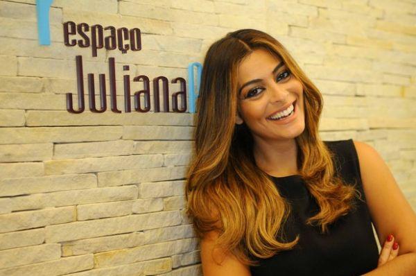 O novo visual Juliana Paes está fazendo mulheres que possuem cabelos escuros correram para os salões de beleza (Foto: Divulgação)