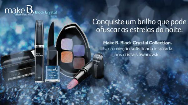 A coleção Make B. Crystal promete ser mais um sucesso do O Boticário (Foto: Divulgação)