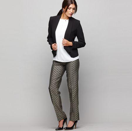 As calças femininas retas valorizam todos os tipos de silhueta (Foto: Divulgação)
