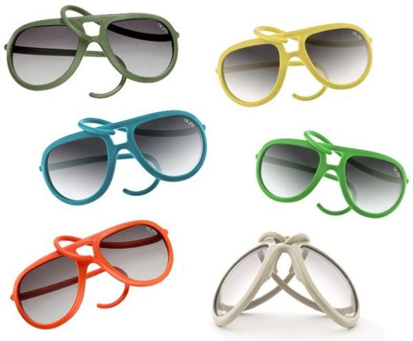 Aposte no óculos de silicone colorido para um look mais divertido e diferenciado (Foto: Divulgação)