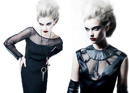 A moda gótica punk glam é novíssima e forte tendência (Foto: Divulgação)
