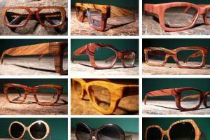 Tendência de Óculos de Madeira