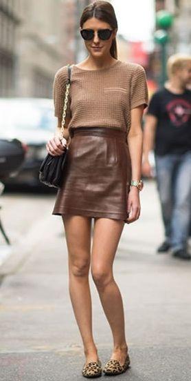 Combinar look com a cor marrom é muito fácil e poderá até deixar seu visual mais elegante (Foto: Divulgação)