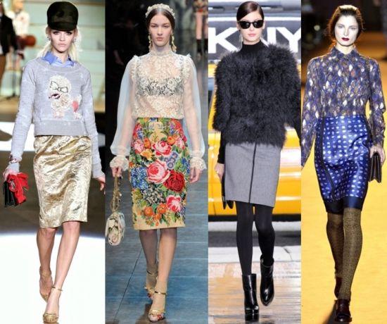 Saber escolher a saia ideal para seu tipo de corpo é essencial para que todo o seu visual fique elegante (Foto: Divulgação)