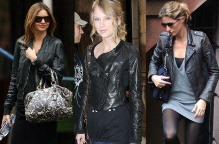 As jaquetas de couro sintético deixarão seus looks invernais ainda mais descolados e interessantes (Foto: Divulgação)