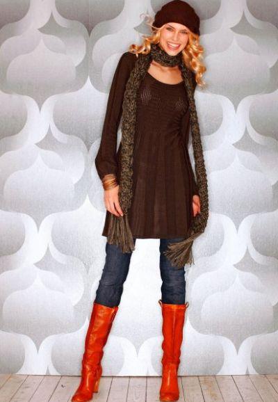 Combinar roupas na cor marrom é muito fácil (Foto: Divulgação)