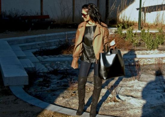 Neste inverno 2013 é possível até mesmo usar bota acima do joelho durante o dia (Foto: Divulgação)