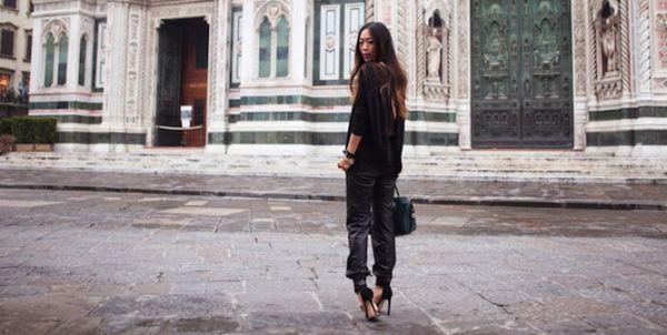 Usar calça de couro neste inverno será ainda mais prazeroso, já que você terá várias opções para montar seus looks (Foto: Divulgação)