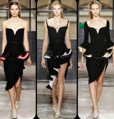 A moda dos babados 2013 2014 está fortíssima e traz opções para todos os formatos de corpos (Foto: Divulgação)