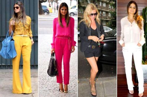 Escolher corretamente as roupas, calçados e acessórios que alongam a silhueta é fundamental para as mulheres que querem parecer mais altas e mais magras (Foto: Divulgação)