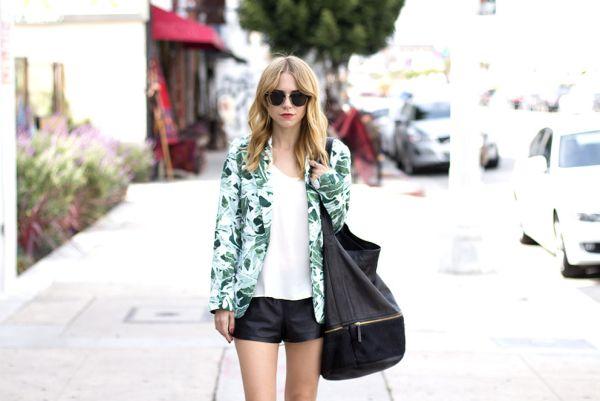 Investir na tendência de moda dos blazers estampados é garantia de sucesso fashion (Foto: Divulgação)