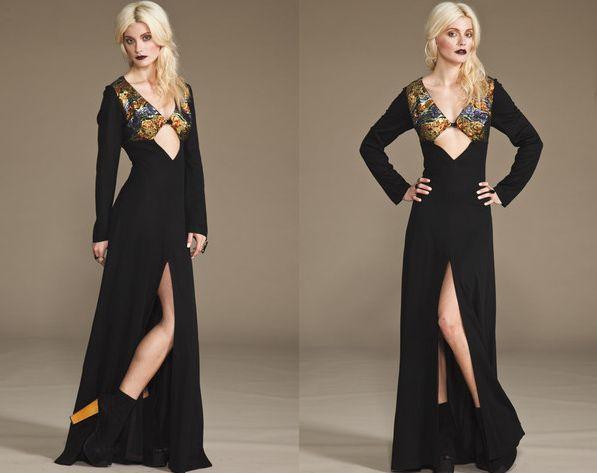 Os vestidos com fenda e recortes são lindos, porém não são para todas (Foto: Divulgação)