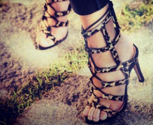 Os sapatos animal print na moda 2014 estão interessantíssimos (Foto: Divulgação)