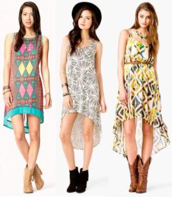 Os vestidos para adolescentes verão 2014 estão encantadores e bem democráticos, para todos os tipos de corpos (Foto: Divulgação)