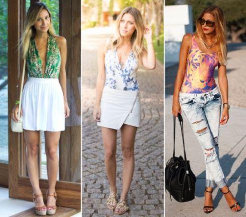 Para usar body sem errar basta escolher corretamente as outras peças de roupas que montarão o look (Foto: Divulgação)