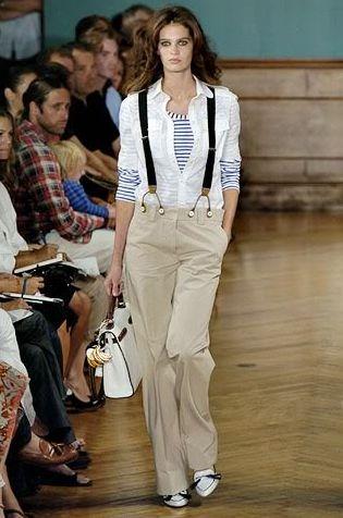 As roupas com suspensórios na moda 2014 estão bem eclética, e os visuais conseguidos com elas também (Foto: Divulgação)