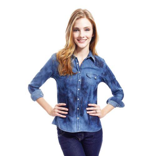 Camisas jeans são versáteis e podem ir a vários lugares (Foto: lojasrenner.com.br) 89,90