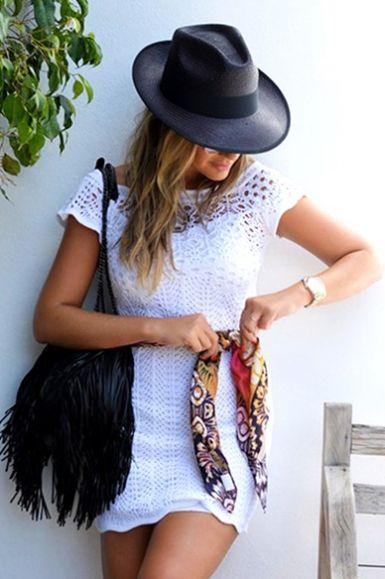 As peças de tricô e crochê na moda 2015 vêm para trazer ainda mais feminilidade aos seus looks (Foto: galeriatricot.com.br) 248,00