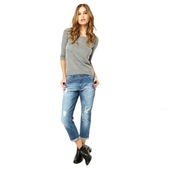 Modelos de jeans para usar no inverno 2015 Modelos de locales de ropa