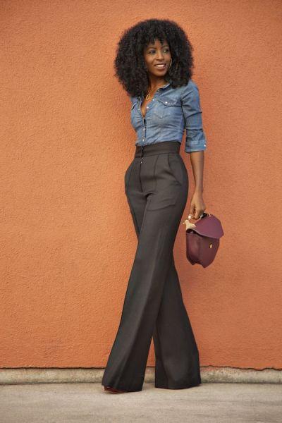 Só use roupa jeans no trabalho se a sua empresa permitir (Foto: pinterest.com)