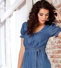 Modelos de Vestidos Jeans para o Verão 2016