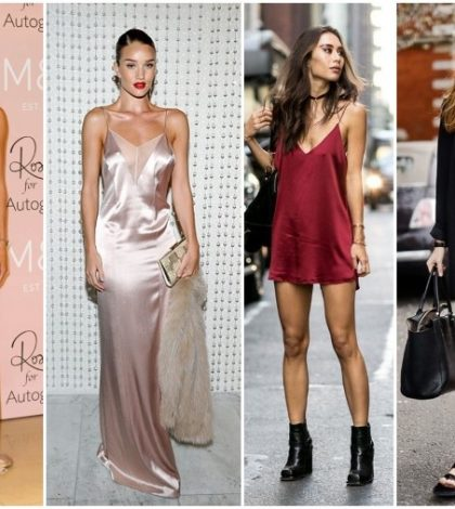 slip dress tendencia (Custom)