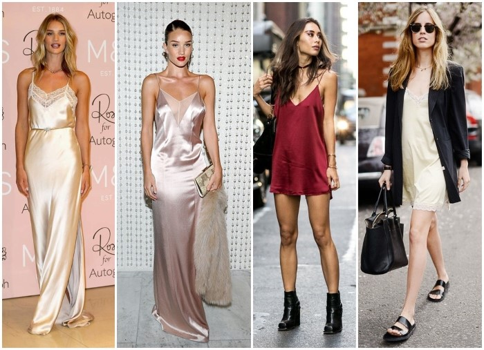 slip dress tendencia