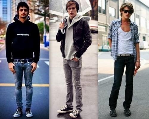 ideias de roupas estilosas para homens magros