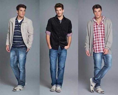 ideias de roupas masculinas estilosas para magros