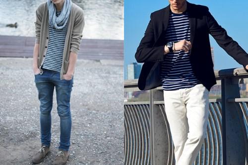 roupas masculinas estilosas para magros