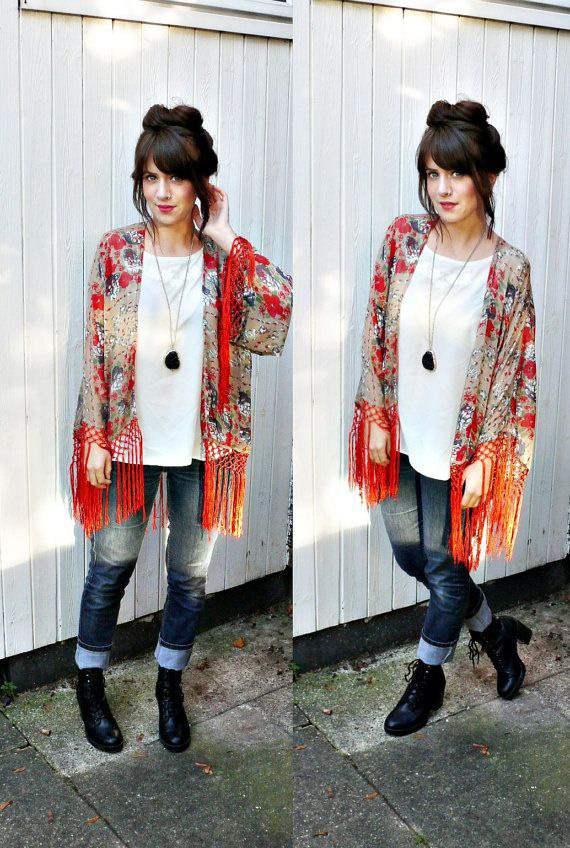kimono feminino moda