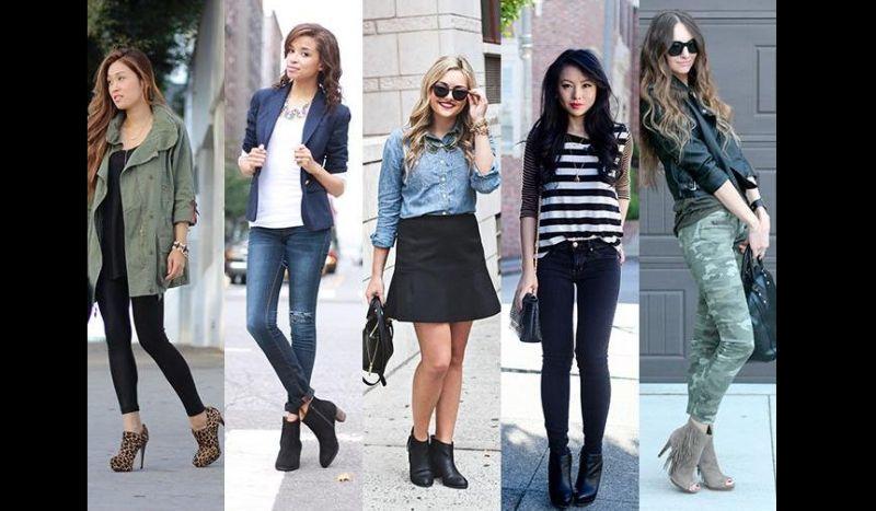 looks com botas diversos