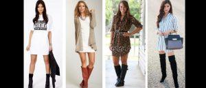 looks femininos com botas