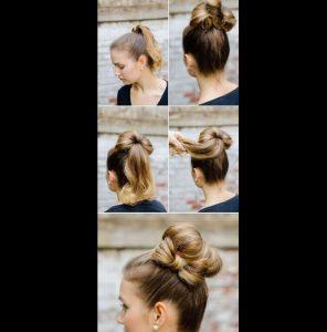 penteado laço