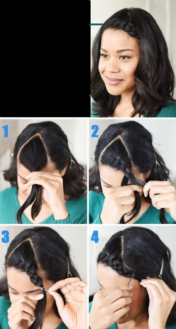 penteado curto