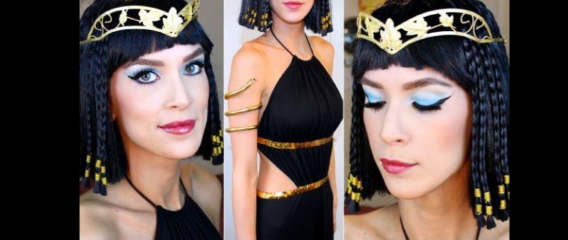 make carnaval cleopatra