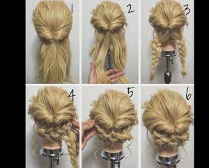 penteado trança