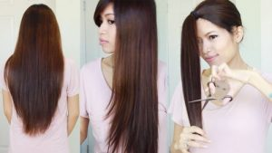 como repicar cabelo