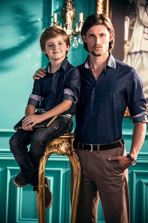 filho e Pai social
