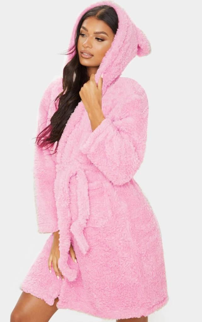 roupao rosa