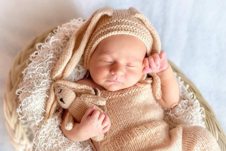 fotografia de bebes menina